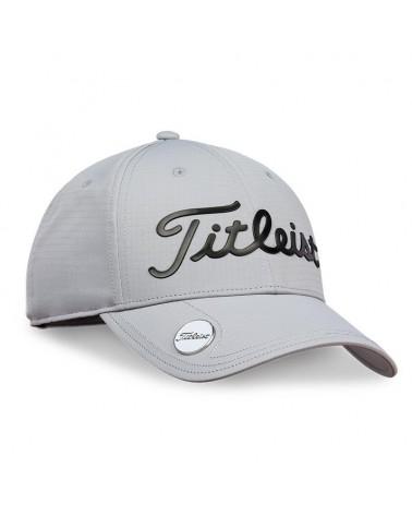 TITLEIST PERFORMANCE BALL MARKER CAP GREY