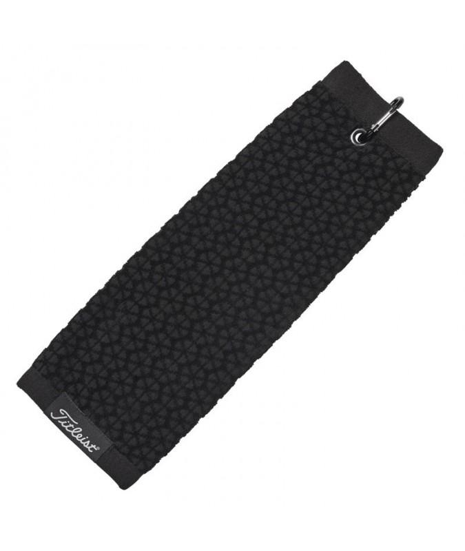 TITLEIST TRI-FOLD TOWEL BLACK