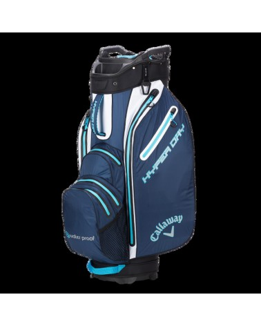 CALLAWAY BAG CART HYPER DRY NAVY/WHITE/BLUE