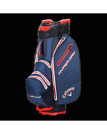 CALLAWAY BAG CART HYPER DRY NAVY/TITANIUM/ORANGE