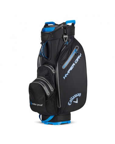 CALLAWAY BAG CART HYPER DRY BLACK/ROYAL/SILVER
