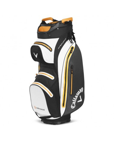 CALLAWAY BAG CART HYPERDRY 15 MAVRIK BLACK/WHITE/ORANGE 20