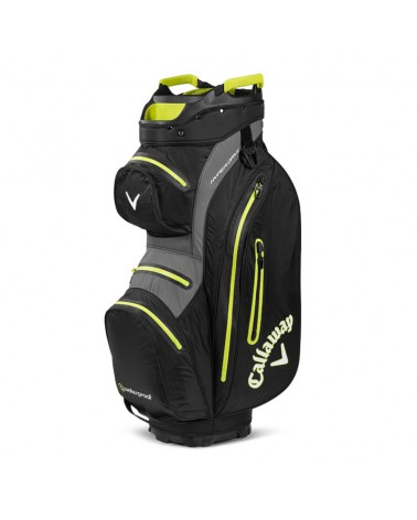 CALLAWAY BAG CART HYPER DRY 15 BLACK/YELLOW 20
