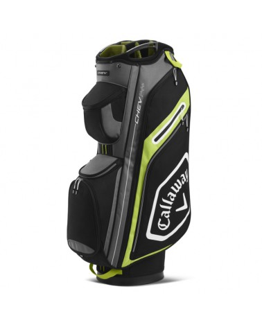 CALLAWAY BAG CART CHEV 14+ BLACK/YELLOW 20