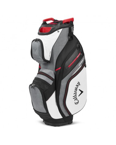 CALLAWAY BAG CART ORG 14 WHITE/CHARCOAL 20