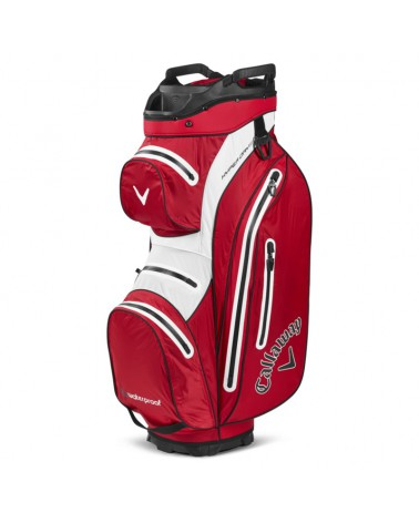 CALLAWAY BAG CART HYPER DRY 15 RED/WHITE 20