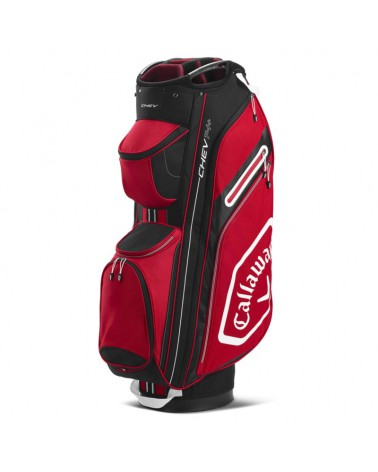 CALLAWAY BAG CART CHEV 14+ CARDINAL/WHITE 20