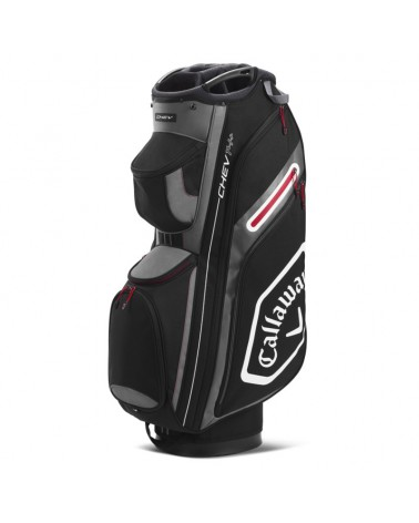 CALLAWAY BAG CART CHEV 14+ BLACK/CHARCOAL 20