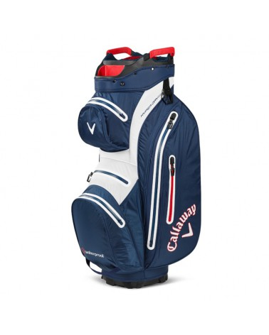CALLAWAY BAG CART HYPER DRY 15 NAVY/WHITE 20