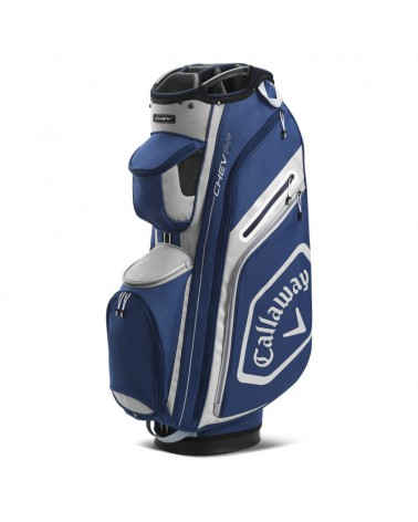 CALLAWAY BAG CART CHEV 14+ NAVY/SILVER 20