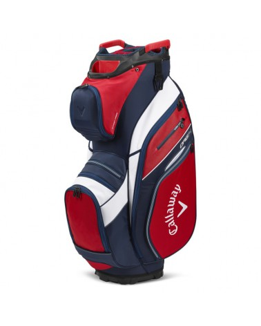 CALLAWAY BAG CART ORG 14 RED/NAVY 20