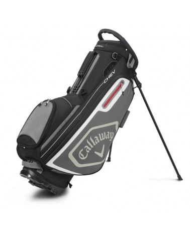 CALLAWAY BAG STAND CHEV BLACK/CHARCOAL 20