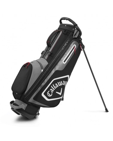 CALLAWAY BAG STAND CHEV C CHARCOAL/BLACK 20