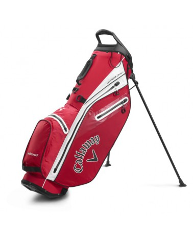 CALLAWAY BAG STAND HYPER DRY C DOUBLE RED/WHITE 20
