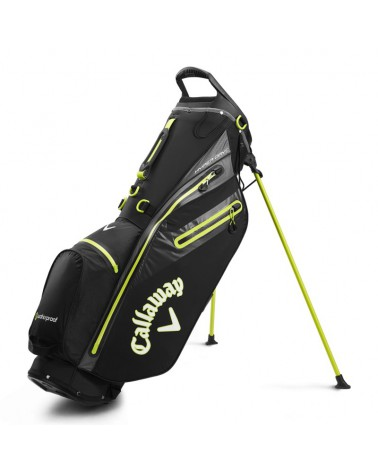 CALLAWAY BAG STAND HYPER DRY C DOUBLE BLACK/YELLOW 20