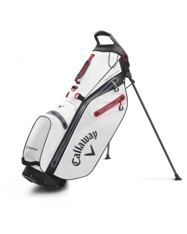 CALLAWAY BAG STAND HYPER DRY C DOUBLE WHITE/BLACK 20