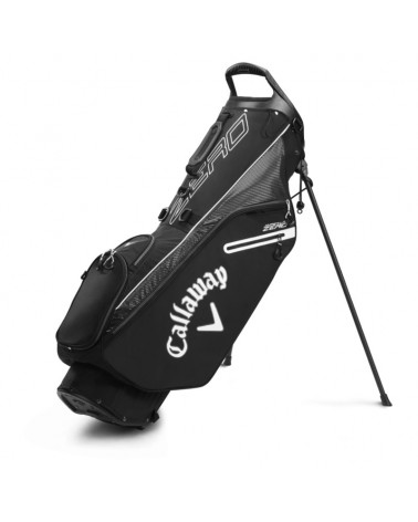 CALLAWAY BAG STAND HL ZERO DOUBLE BLACK/WHITE 20
