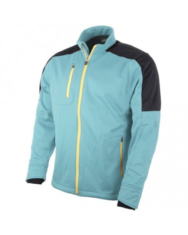 CALLAWAY BLOCKED SOFTSHELL JACKET STILLWATER