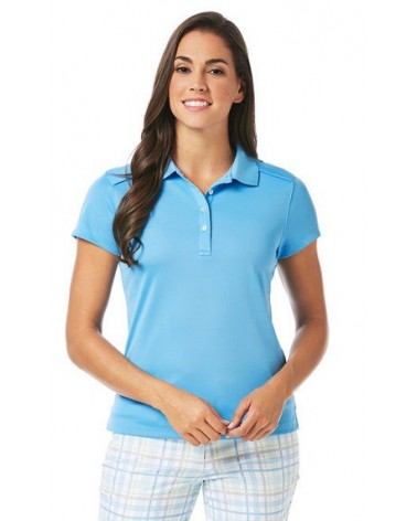 CALLAWAY SOLID DOUBLE KNIT AZURE BLUE