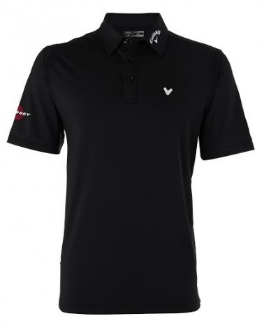 CALLAWAY CHEV STRETCH VENTILATED POLO CAVIAR