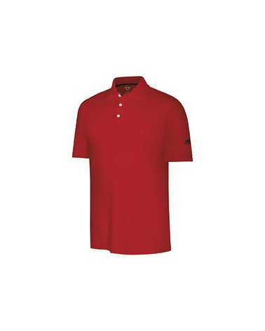 Adidas  M CL Cotton Stretch Pigue Short Sleeve red/black