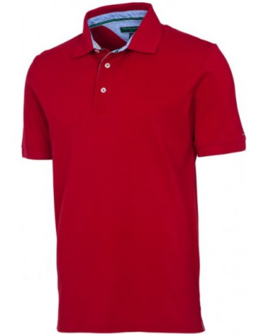 Tommy Hilfiger Basic Pique Polo Chilli
