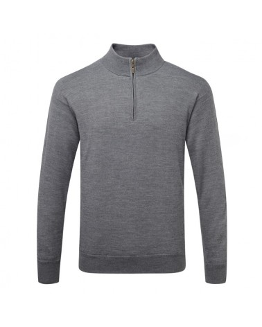 CALLAWAY L/S 1/4 ZIP WINDSTOPPER GRIFFIN GRAY