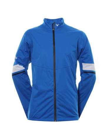 CALLAWAY UK GG WATERPROOF FULL-ZIPPED JKT MAGNETIC BLUE