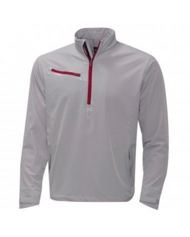 CALLAWAY LS 1/4 ZIP STRETCH WINDSHIRT HIGH RISE