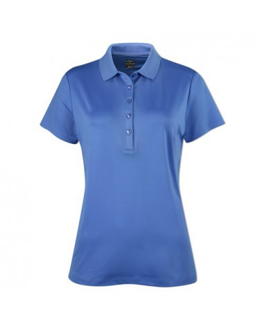 CALLAWAY S/S CORE ESSENTIAL POLO W/ KNIT COLLAR PROVENCE