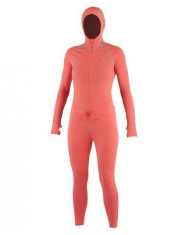AIRBLASTER WMS CLASSIC NINJA SUIT-CORAL