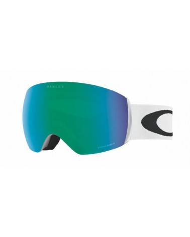 OAKLEY FLIGHT DECK XM MATTE WHITE /PRIZM JADE IRIDIUM