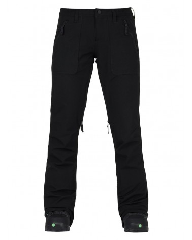 BURTON WOMENS VIDA PANT TRUE BLACK