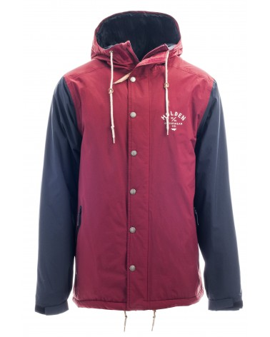 HOLDEN MENS TEAM JACKET- CAMP MAROON/BLACK