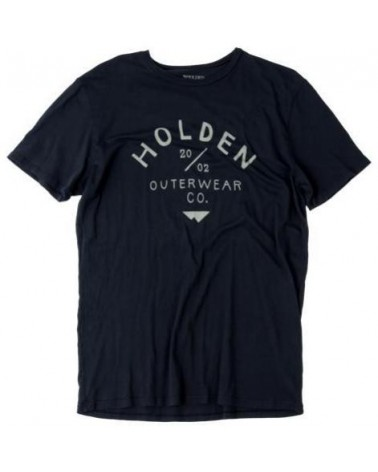 HOLDEN CAMP T-SHIRT BLACK