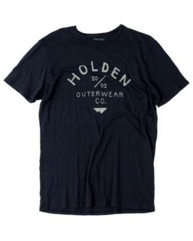 HOLDEN CAMP T-SHIRT BLACK