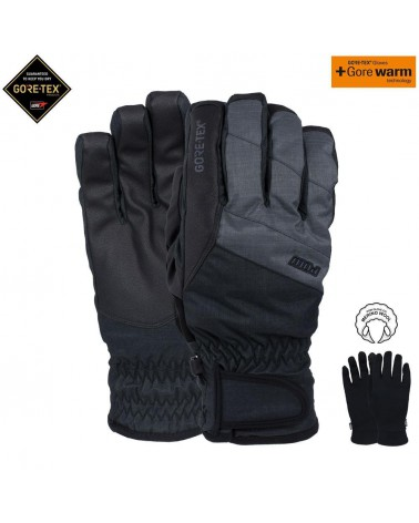 POW WARNER GTX© SHORT GLOVE CHARCOAL