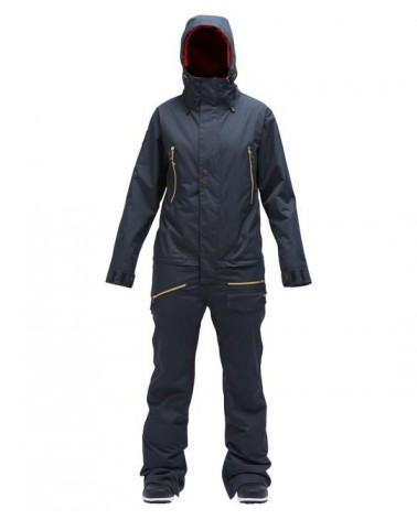 AIRBLASTER WOMEN'S INSULATED FREEDOM SUIT-HOT BLACK