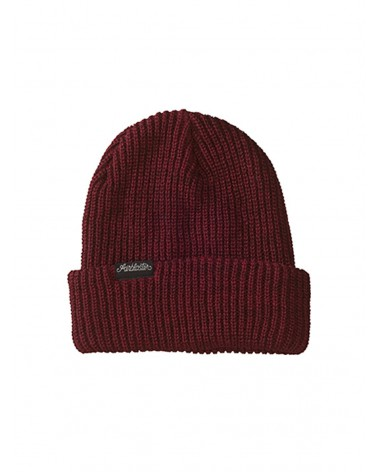AIRBLASTER COMMODITY BEANIE-BURGUNDY HEATHER