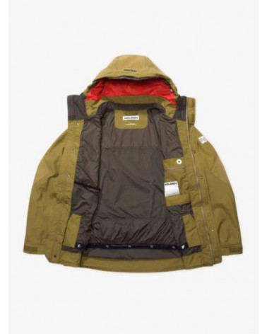 HOLDEN Mens Hooded Deck Jacket Olive