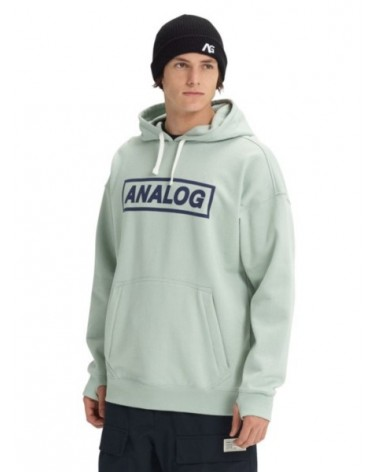 ANALOG CRUX Pullover AQUA GRAY