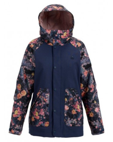 BURTON WMS EASTFALL JACKET MOOD INDIGO/PRICKLY PEAR