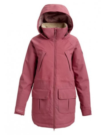 BURTON WMS PROWESS JACKET ROSE BROWN /