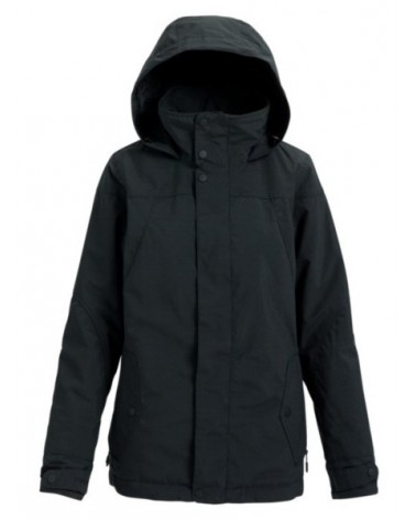 BURTON WMS JET SET JACKET TRUE BLACK HEATHER