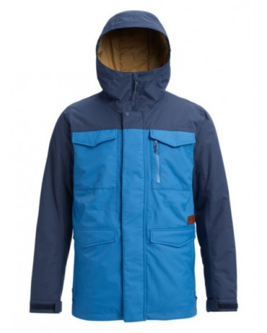 BURTON  COVERT JACKET VALLARTA BLUE/MOOD INDIGO