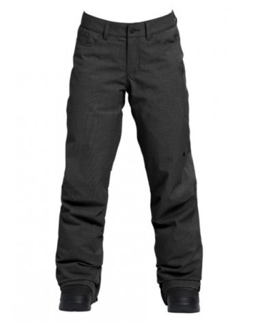 BURTON WMS FLY PANT TRUE BLACK HEATHER