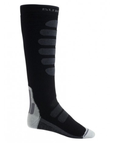 BURTON Performance Plus Midweight Snowboard Sock TRUE BLACK