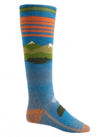BURTON  PERFORMANCE MIDWEIGHT SOCK VISTA