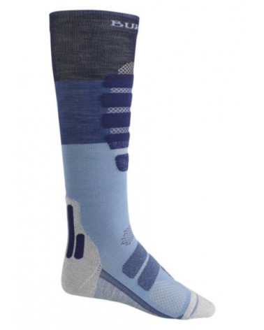 BURTON  PERFORMANCE PLUS LIGHTWEIGHT SOCK MOOD INDIGO BLOCK