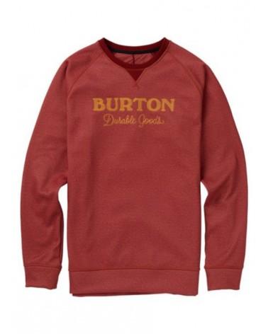 BURTON CROWN BONDED CREW SPARROWMS HEATHER